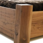 Walnut Bed Detail